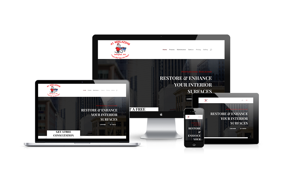 A1 Reglazing - Bellingham, WA - Web Design Project